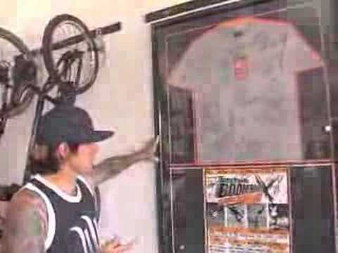 Carey Hart Garage Tour