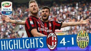 Milan - Hellas Verona 4-1 - Highlights - Giornata 36 - Serie A TIM 2017/18