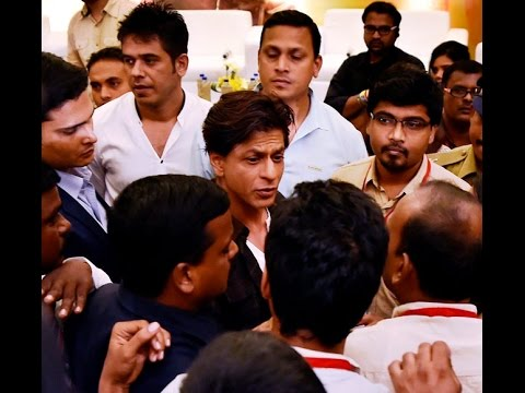 Actor ShahRukh Khan insulted Tamil Media and Journalist getting Angry on  ShahRukh Khan