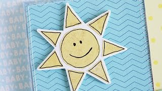 Make A Funny Sun For Scrapbooking Or Cardmaking - DIY Crafts - Guidecentral