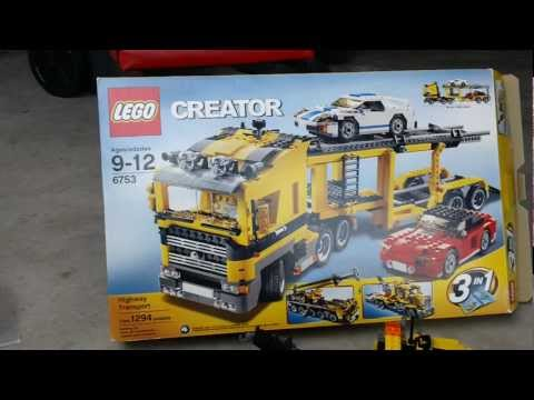 LEGO Creator 6753 Highway Transport B Model Tow Truck Review