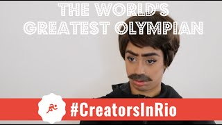 JET: THE WORLD'S GREATEST OLYMPIAN #CreatorsInRio