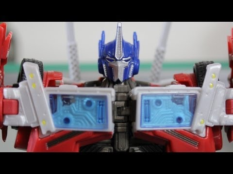 Transformers Prime: Voyager Optimus Prime (First Edition) - SSJ Reviews 269