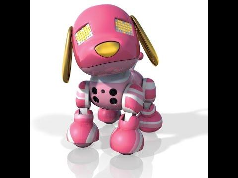 Candy Zoomer Zuppies Interactive Puppy Robot