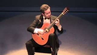 Sevilla Op. 47 No. 3 - Isaac Albniz - Live 2010 - Jos Manuel Dapena, guitar