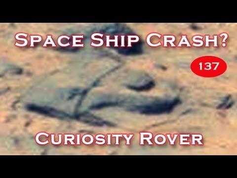 Spaceship Found Desolate On Mars By Curiosity Rover?