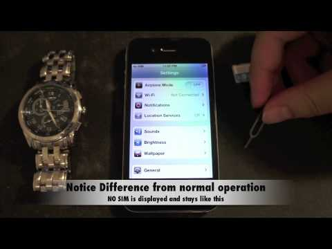 iPhone 4 GSM iOS 5.0.1 Gevey Updatable (Manole) Unlock Baseband 4.10.01 NON-JailBroken
