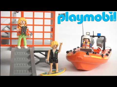 Playmobil Coast Guard Station with Lighthouse from Playmobil