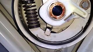 Whirlpool washer cam brake actuator
