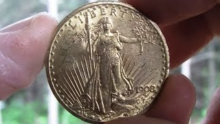 1908 St. Gaudens Gold Double Eagle Pickup!