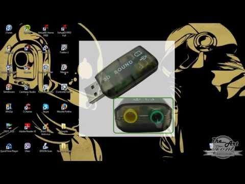 Virtual DJ con tarjeta de audio usb (PRE ESCUCHA)