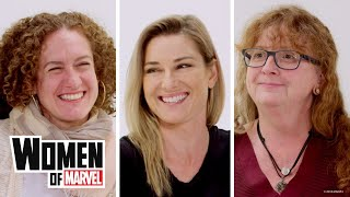 Marvel Studios' 10th Anniversary Roundtable: An Inside Look | Women of Marvel