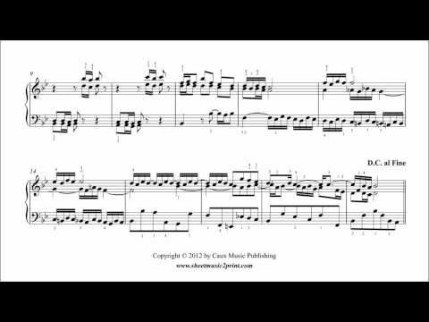 Carl Philipp Emanuel Bach - Polonaise In G Minor Bwv Anh 123