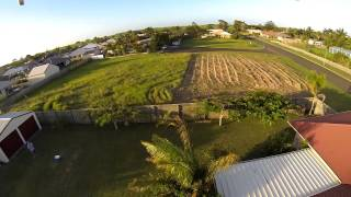 Quick afternoon flight with the DJI F450 quadcopter