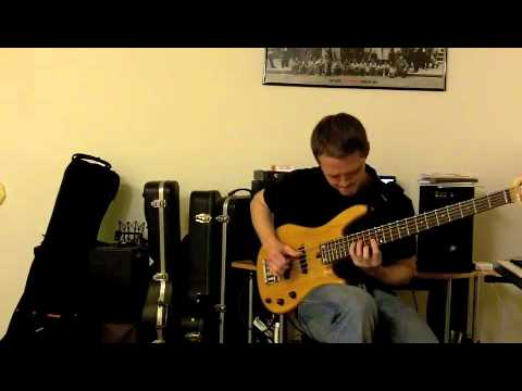 Victor Wooten the Lesson Cover Jeremy Sauer video