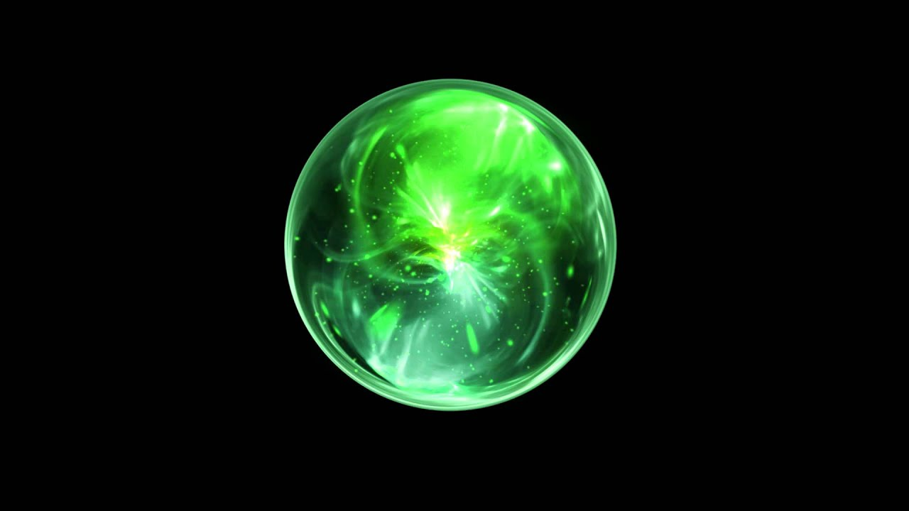 Green Wizard Orb - Free Animation Stock Footage - YouTube