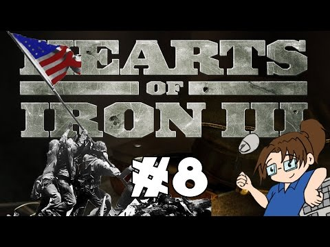 Hearts of Iron 3 - United States of America - Ep 8 [Losses in the Pacific]
