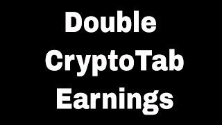 FREE BITCOINS Cryptotab Hack Script 8,000000000 BTC Update 14,1 2019