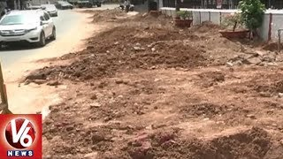 Hyderabad Commuters Face Problems With Digging Of Roads For Pipelines