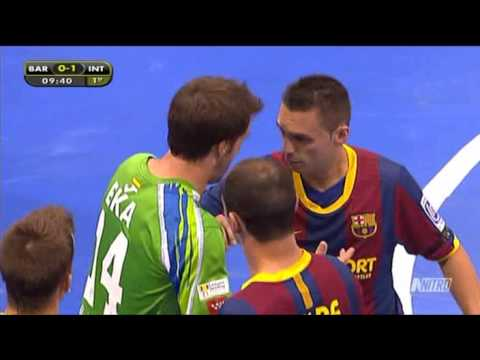 Barcelona Alusport vs Inter Movistar. 1ª Parte