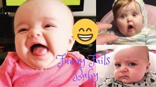 Funny Fails Baby - Funniest Upset Babies - Funny Fails Baby Video