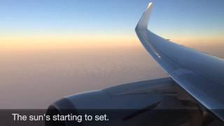 American Airlines Boeing 767-300W MIA-BCN (FULL FLIGHT)