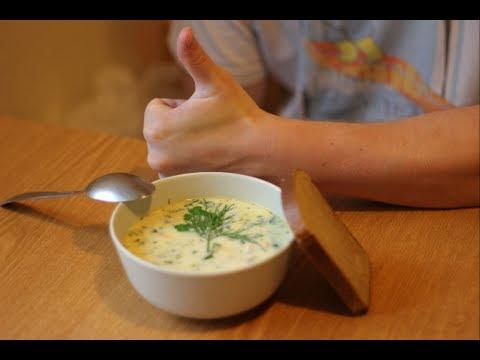 Как приготовить сырный суп - видео