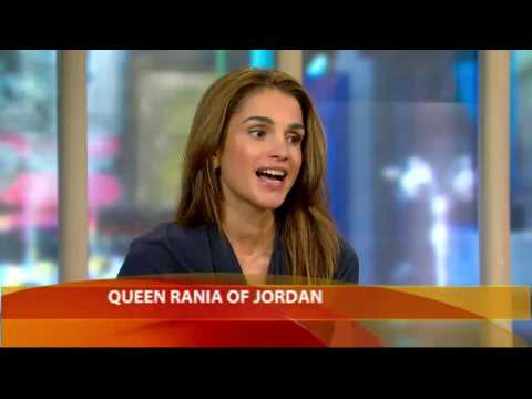 Queen Rania on 'Illegal' Israeli Settlements