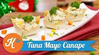 Resep Tuna Mayo Canape | MEGA LESTARY