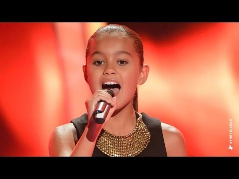 Alexa Sings Girl On Fire | The Voice Kids Australia 2014