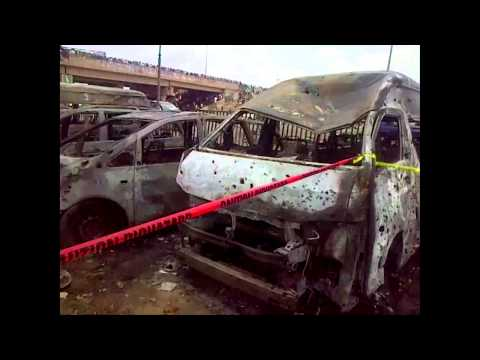 Abuja Bus Station Bombing: Scenes from the Explosion, 71 Killed By A Car Bomb