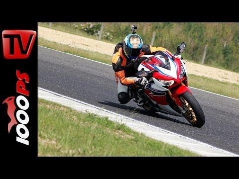 Honda CBR 1000 RR Fireblade SP 2014   Review   Prueba @Pannonia Racetrack