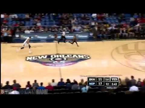 Markel Brown 360 Dunk | Nets v. Pelicans | 2.25.15