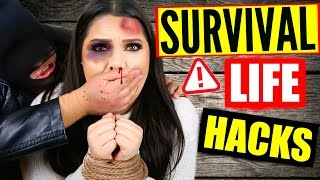 Emergency Life Hacks That Can Save Your Life One Day!