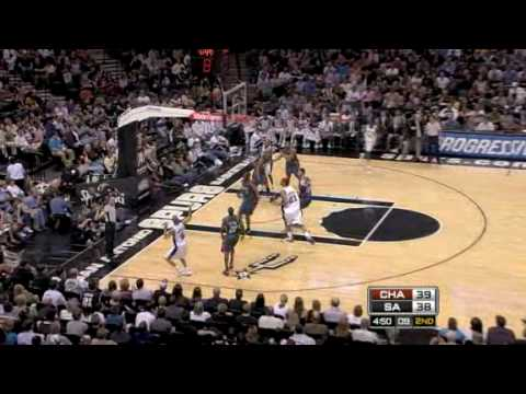 Charlotte Bobcats vs. San Antonio Spurs 2009/3/10