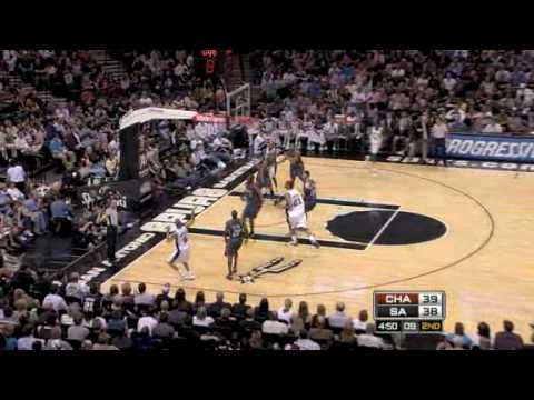 Charlotte Bobcats vs. San Antonio Spurs 2009/3/10