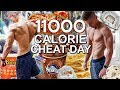 11K+ CALORIES | POST PHOTOSHOOT EPIC CHEAT DAY | 600+ GR SUGAR in ONE DAY