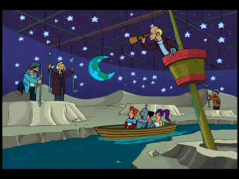 We're whalers on the moon