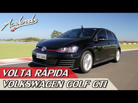 VOLKSWAGEN GOLF GTI - VOLTA RÁPIDA #20 COM RUBENS BARRICHELLO | ACELERADOS