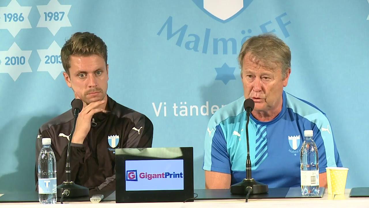 LIVE: presskonferens MFF
