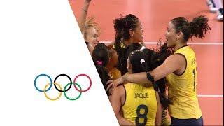 Brazil vs Russian Fed. - Women's Volleyball Quarterfinal | London 2012