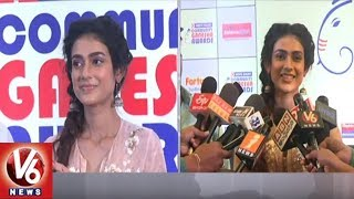 Devadas Movie Actress Aakanksha Singh Presents 'HDFC Bank Community Ganesha Awards'