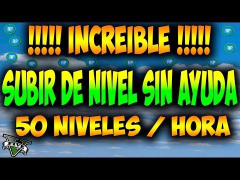 INCREIBLE !! SUBIR DE NIVEL SIN AYUDA El mejor Truco GTA 5 Online: Aumentar Rp SOLO Sin amigos