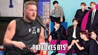 Pat McAfee LOVES BTS