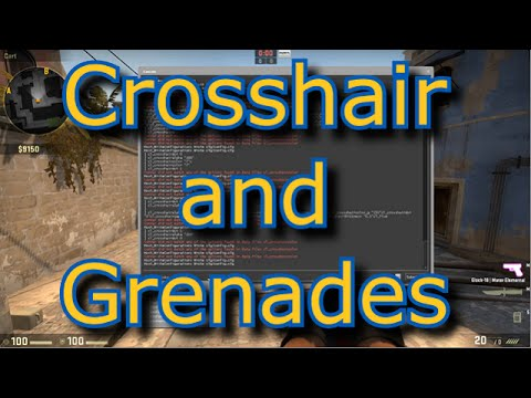 how to change crosshair in cs go config