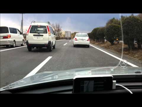 2011.3.11 Big earthquake at highway (Fukushima)  