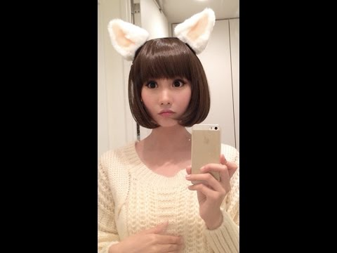 Alodia tries out Necomimi - Brainwave Cat Ears