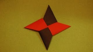 Origami Ninja Star - How To Make An Origami Ninja Star
