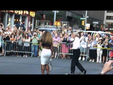 Serena Williams vs. David Letterman!