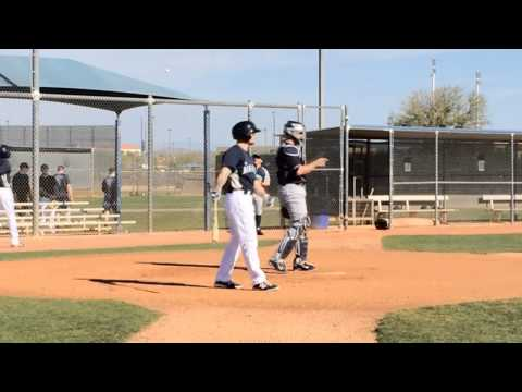 Felix Hernandez throws simulated game -- 2/26/2014